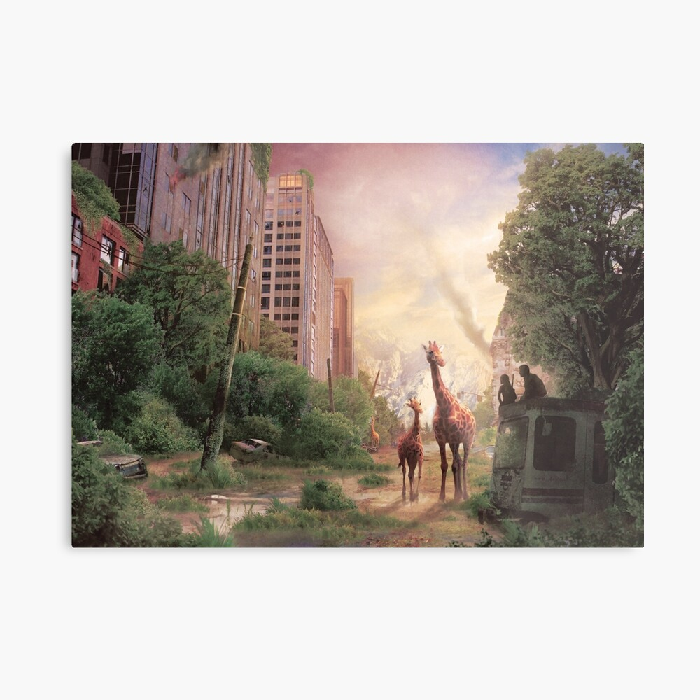 Journey's End  Metal Print