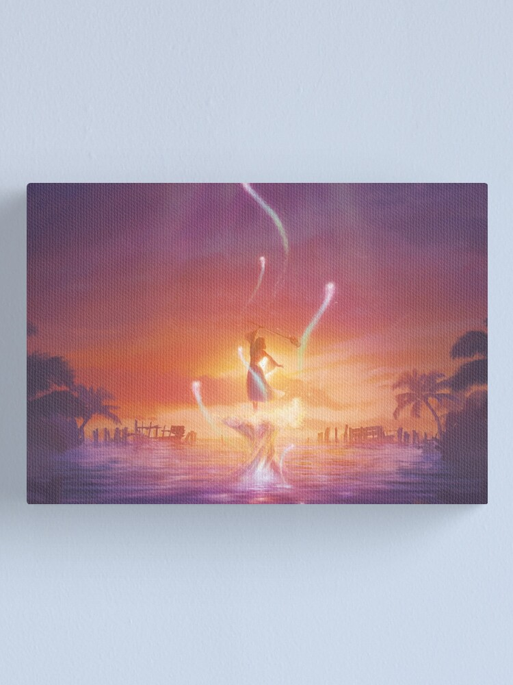 Alternate view of Song of Prayers  Canvas Print