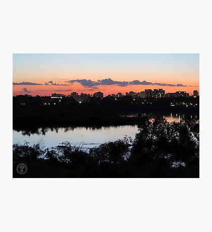 Regina Skyline from Douglas Park Hill Photographic Print