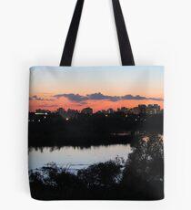Regina Skyline from Douglas Park Hill Tote Bag