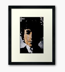 Bob Dylan Born already ruined Framed Print