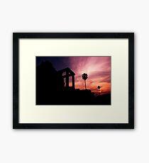Angkor Sunset - Angkor Wat, Cambodia Framed Print