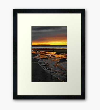 To the Sea Framed Print