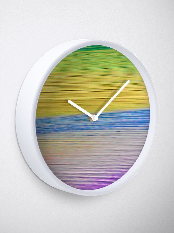 Alternate view of Sea Shades Clock