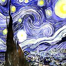 Starry Night Gifts Vincent Van Gogh by CreatedProto