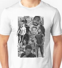 Shia Labeouf Collage T-Shirt