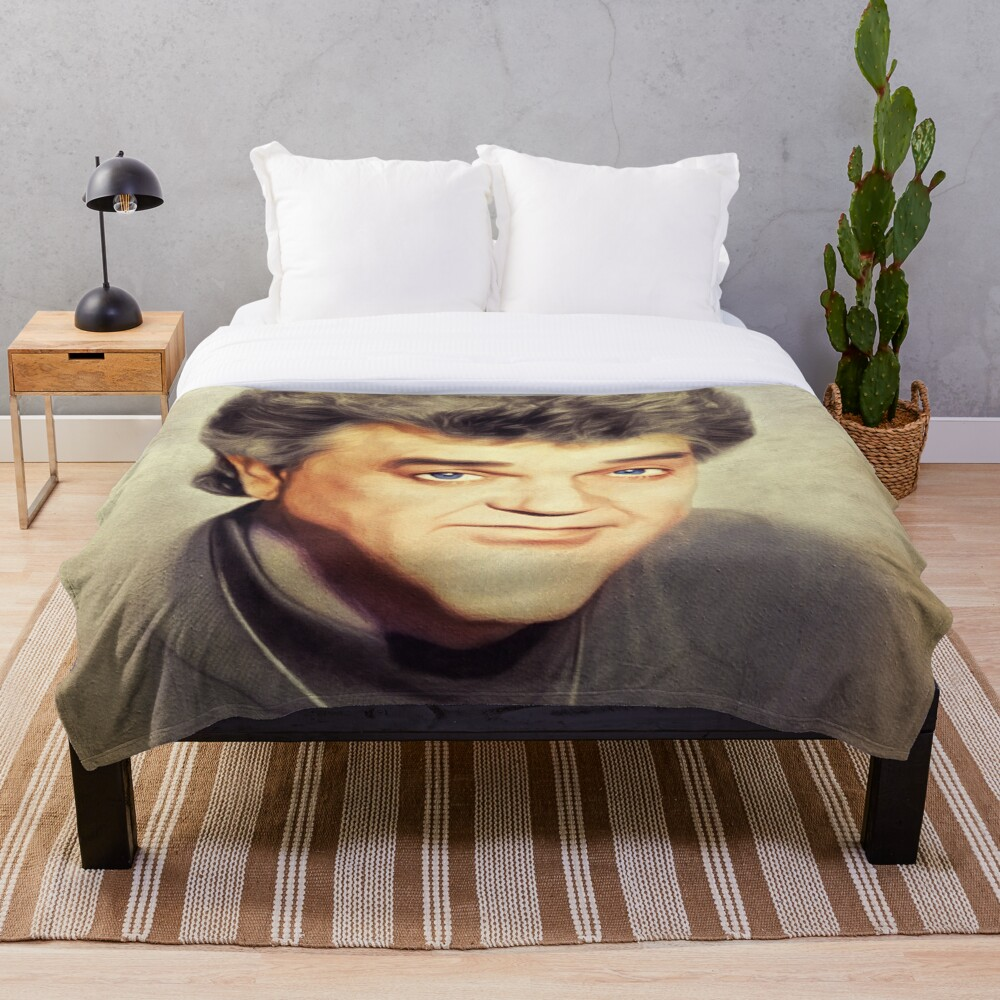 Conway Twitty, Country Legend Throw Blanket