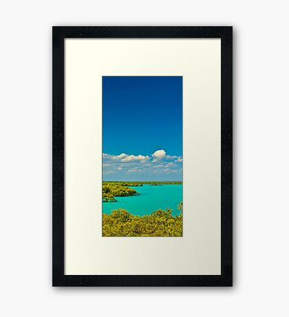 Colours of Broome Framed Print