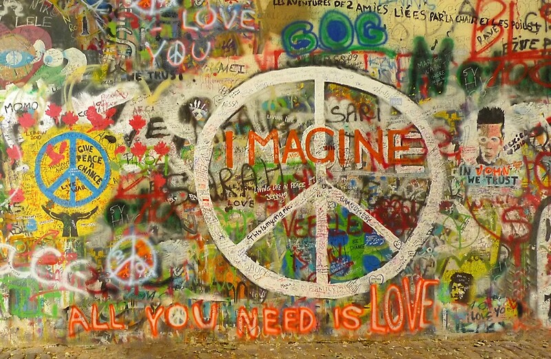 The Beatles John Lennon All You Need is Love Imagine