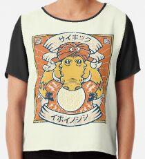 Psychic Warthog Chiffon Top