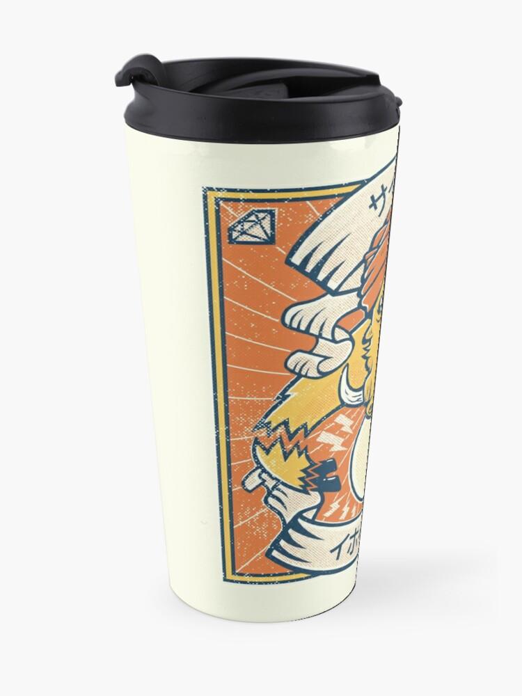 Alternate view of Psychic Warthog Travel Mug