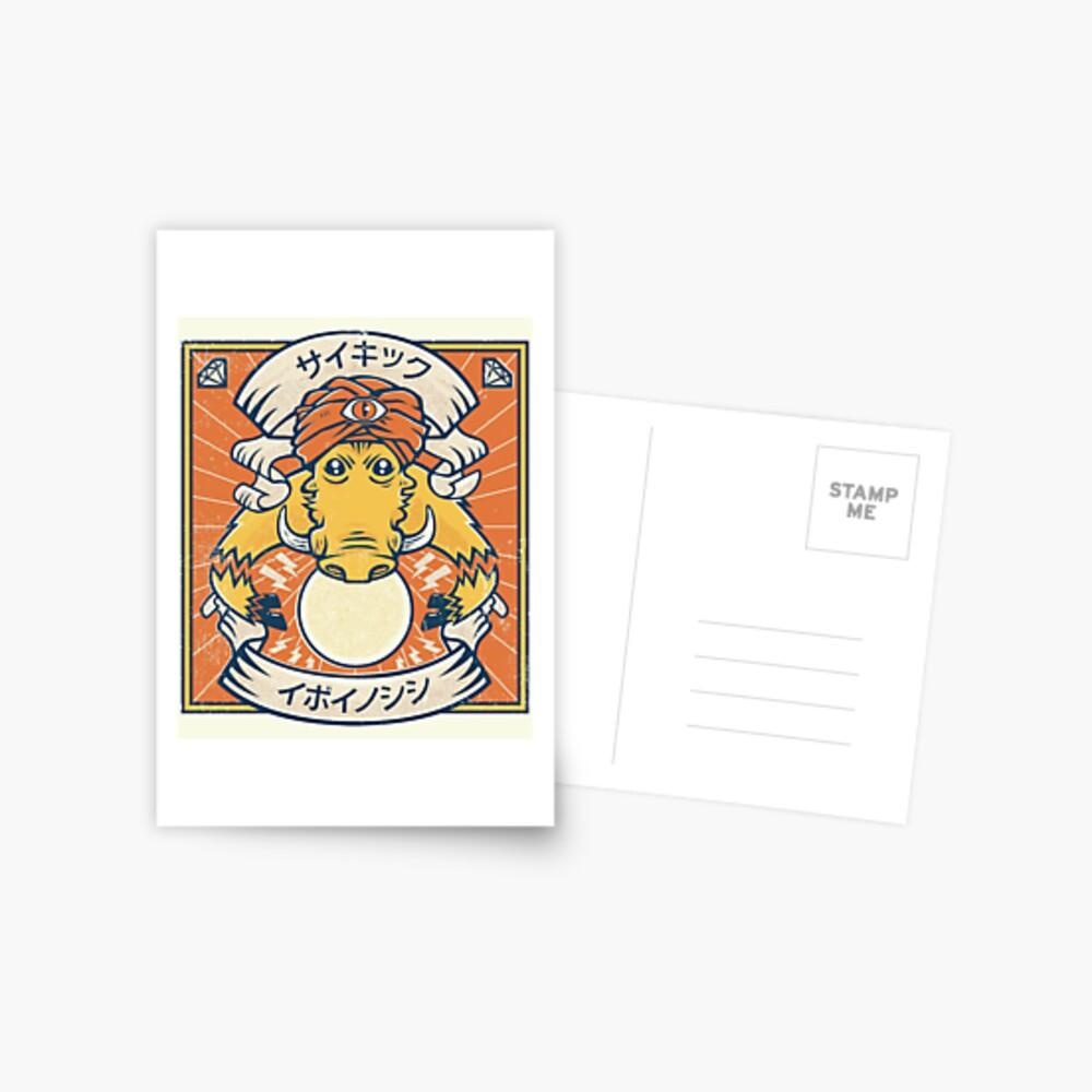 Psychic Warthog Postcard