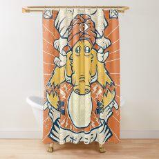 Psychic Warthog Shower Curtain