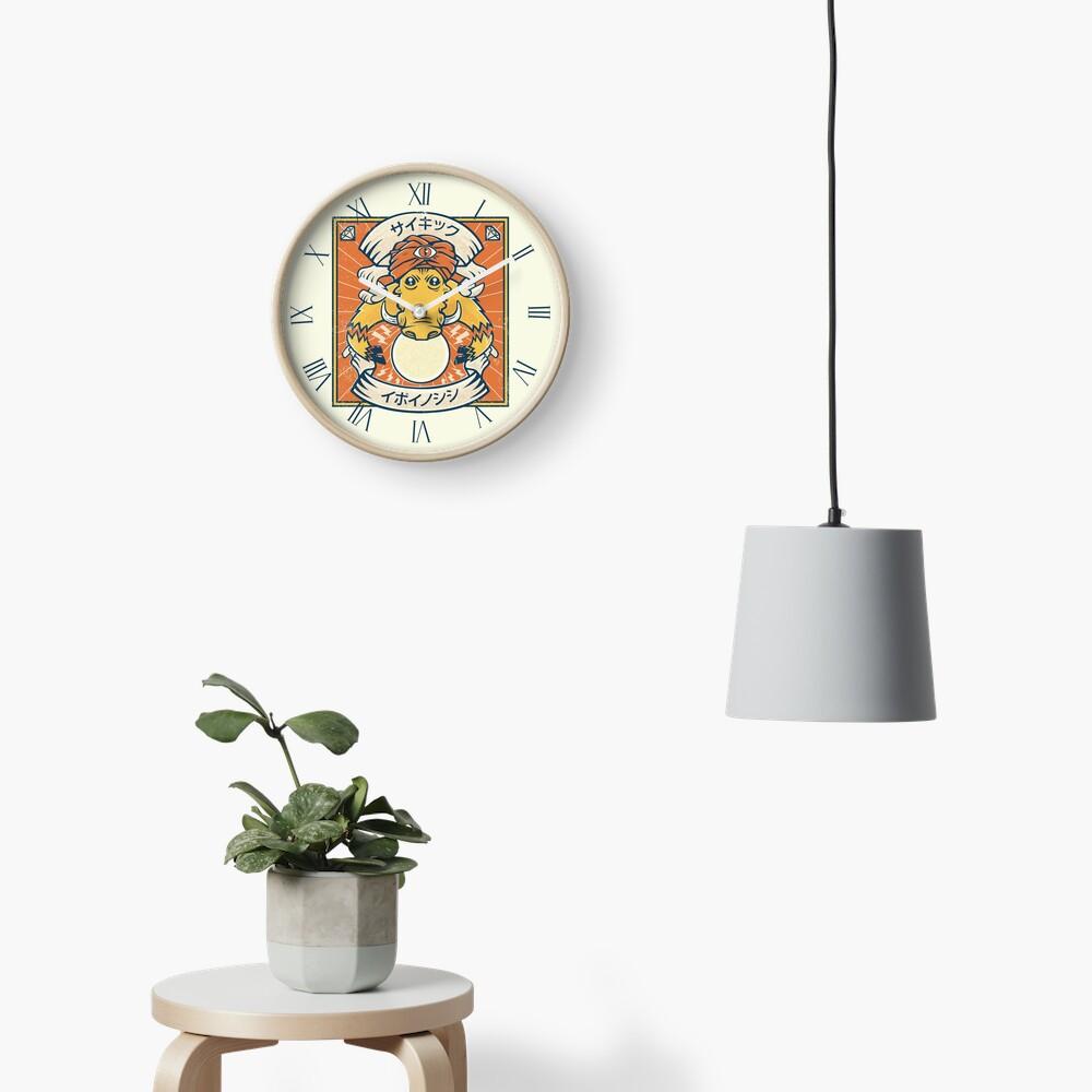 Psychic Warthog Clock