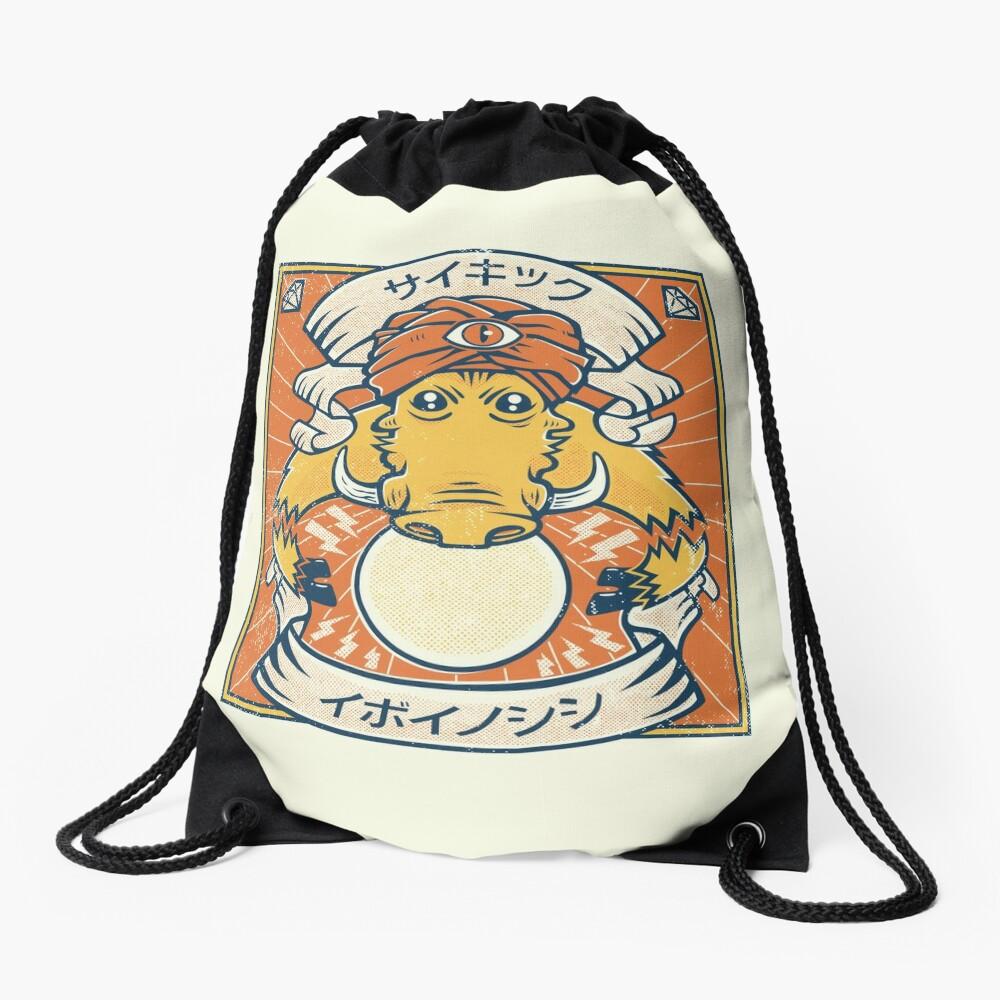 Psychic Warthog Drawstring Bag