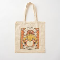 Psychic Warthog Cotton Tote Bag
