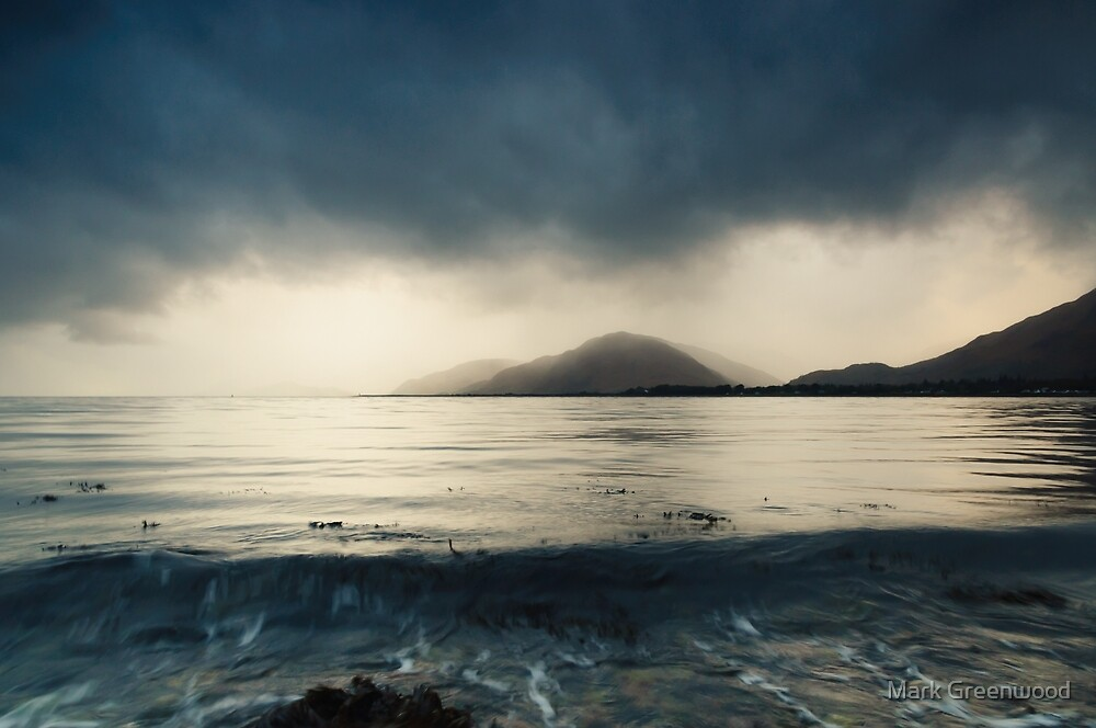 Moody Water by Mark Greenwood