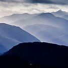 Ben Cruachan in the Rays by Mark Greenwood
