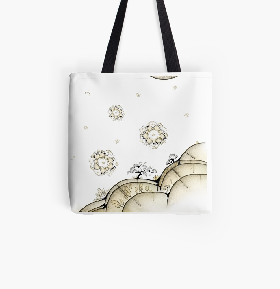 Bonzaï du Monde Graine - Bonzai from the Seed World All Over Print Tote Bag