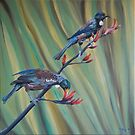 A two tui flax by Pam Buffery