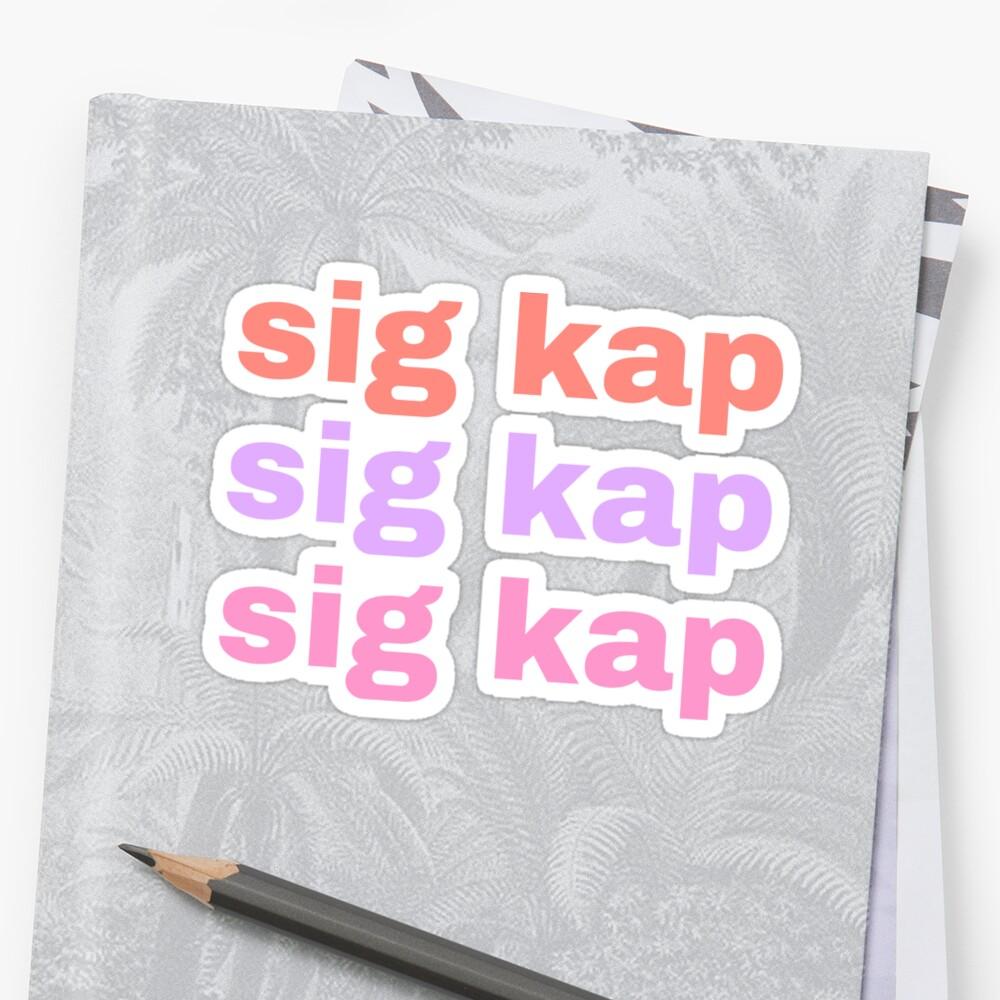 sk sk sk Sticker