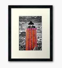 The Ribbon Tower, Glastonbury Framed Print