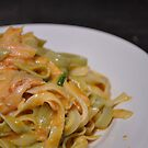 Pasta e Salmone (Italian Food Series) by diLuisa Photography