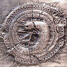 Aztec Alien by truaxdesigns