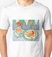 Bakewell Pudding and cup of tea at Eroica Britannia Unisex T-Shirt
