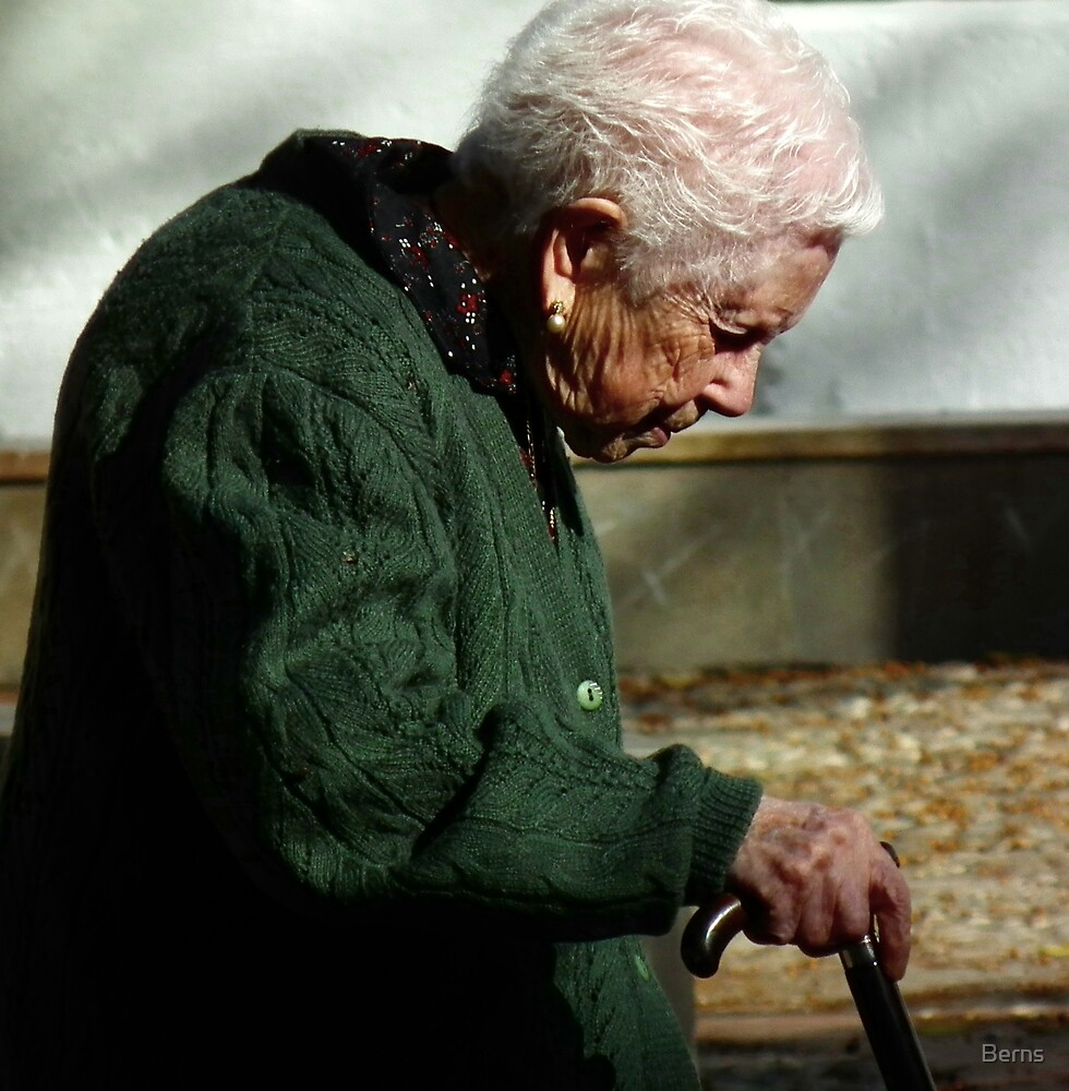 The beauty of an older woman (col) by Berns