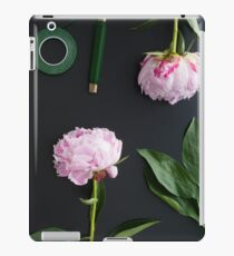 Florist workplace and accessories iPad Case/Skin