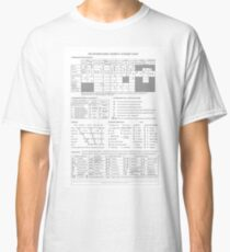 International Phonetic Alphabet Classic T-Shirt
