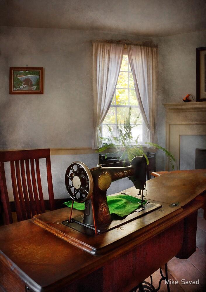 Sewing - My sewing room  by Michael Savad