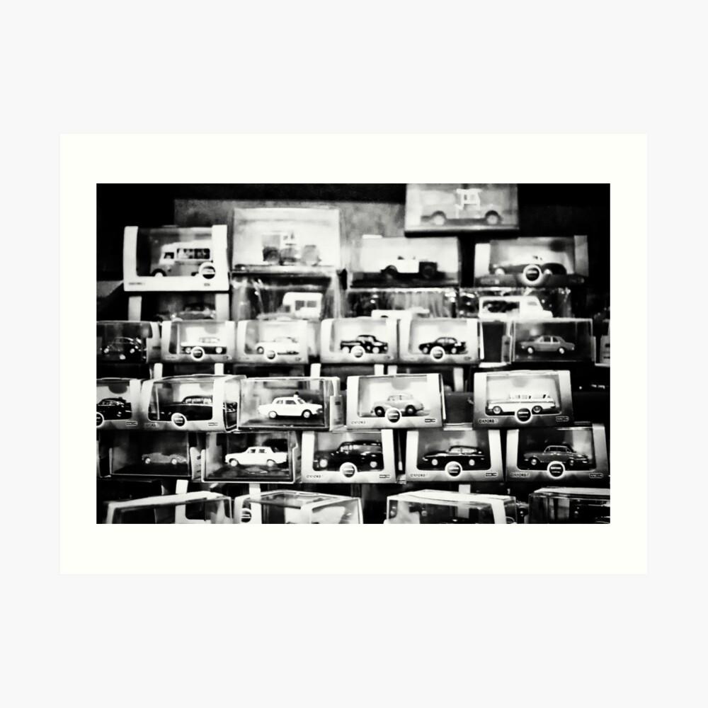 Automobiles Kunstdruck