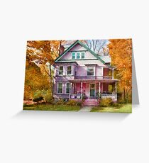 Victorian - Cranford, NJ - An Adorable house Greeting Card