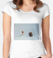 It's a trap? Women's Fitted Scoop T-Shirt