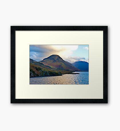 Early Morning at Wast Water Framed Print