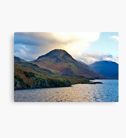 Early Morning at Wast Water Canvas Print