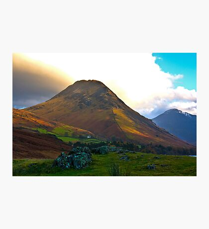 High Fell above Wast Water. Photographic Print