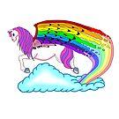 Rainbow pegasus by Melanie Jeyakkumar