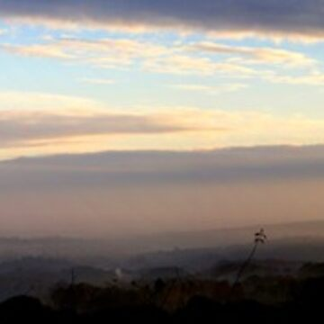 Panoramic Dawn, View From Wentworth Castle by SandraCockayne