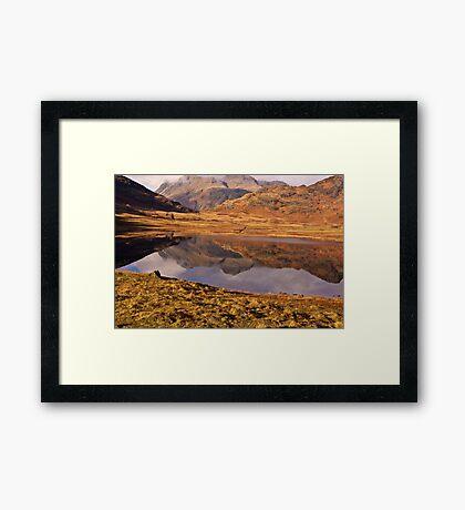 Beautiful Blea Tarn Framed Print