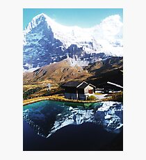 Eiger Squared Photographic Print