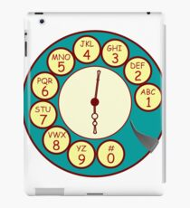Telephone Dial iPad Case/Skin
