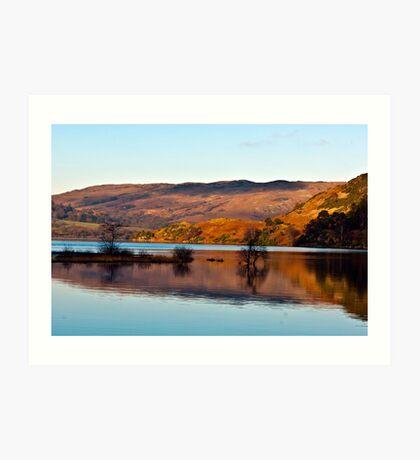 Calm Day on Ullswater Art Print