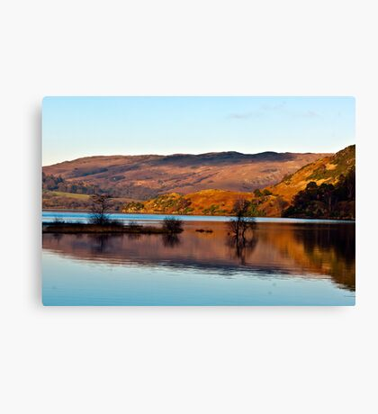 Calm Day on Ullswater Canvas Print