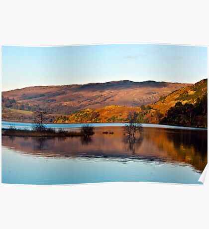 Calm Day on Ullswater Poster
