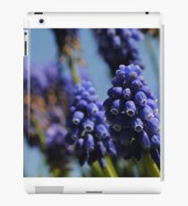 Purple bell flowers iPad Case/Skin