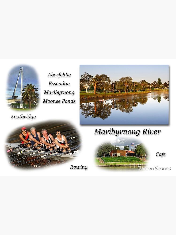 Maribyrnong River by dgstones