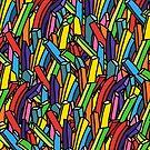 Regenbogen-Einhorn-Fischrogen von Notsniw Art